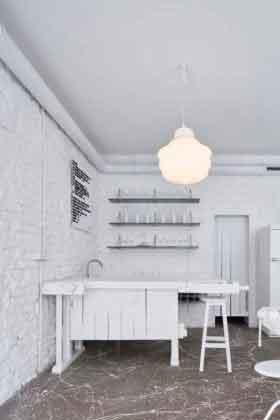 Дизайн интерьера в баре