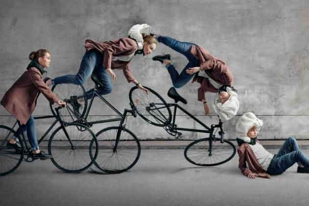 Подушка безопасности велосипедистов.