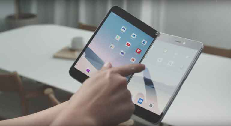 Microsoft представляет Surface Duo