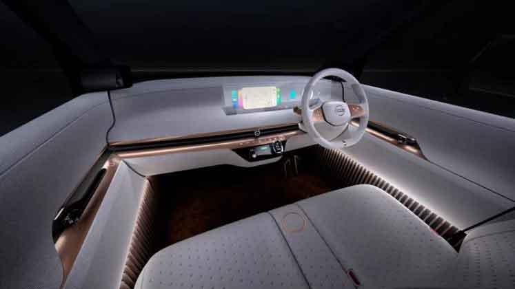 Nissan представляет концепт электромобиля