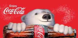 Coca-Cola Cinnamon, белые медведи дополненной реальности