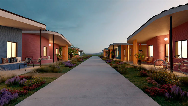 Создание «3D-деревни».