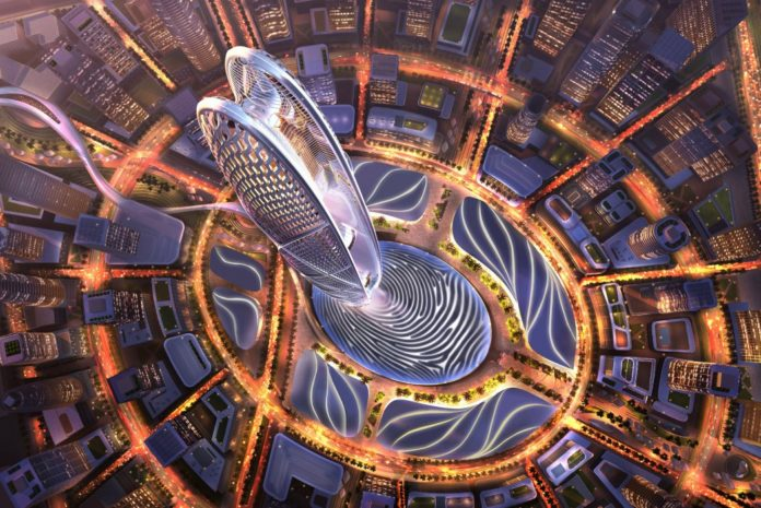 Основание новой башни Дубая – отпечаток пальца их правителя