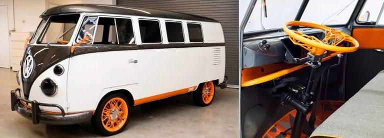 Volkswagen представляет ретро-футуристический электрический микроавтобус «Type 20»