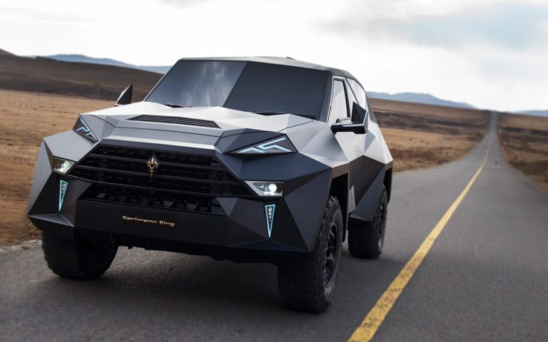 Эксклюзивный внедорожник Karlmann King SUV