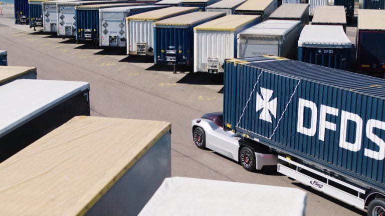 Автономный грузовик без кабины от VOLVO