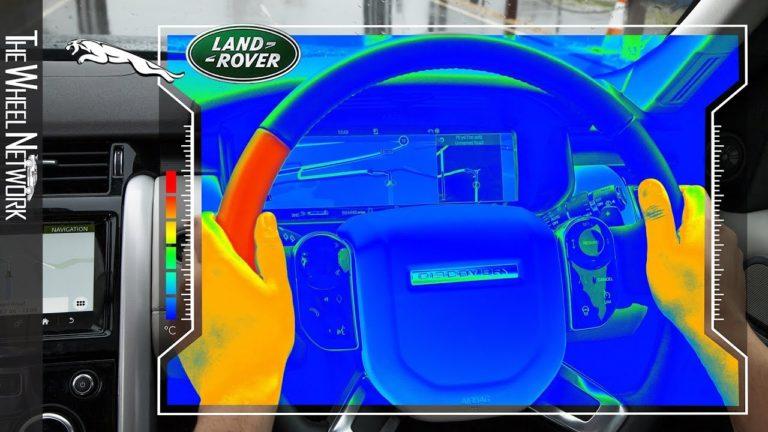 Jaguar Land Rover представил сенсорное рулевое колесо