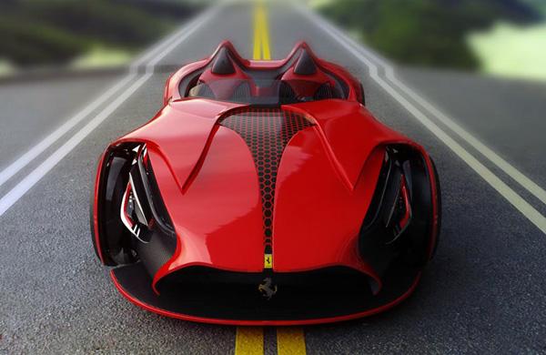 Ferrari Millenio футуристическая концепция суперкаров