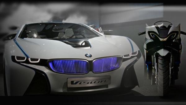 Концепт BMW Ghost и BMW Vision из «Мисии невыполнима»