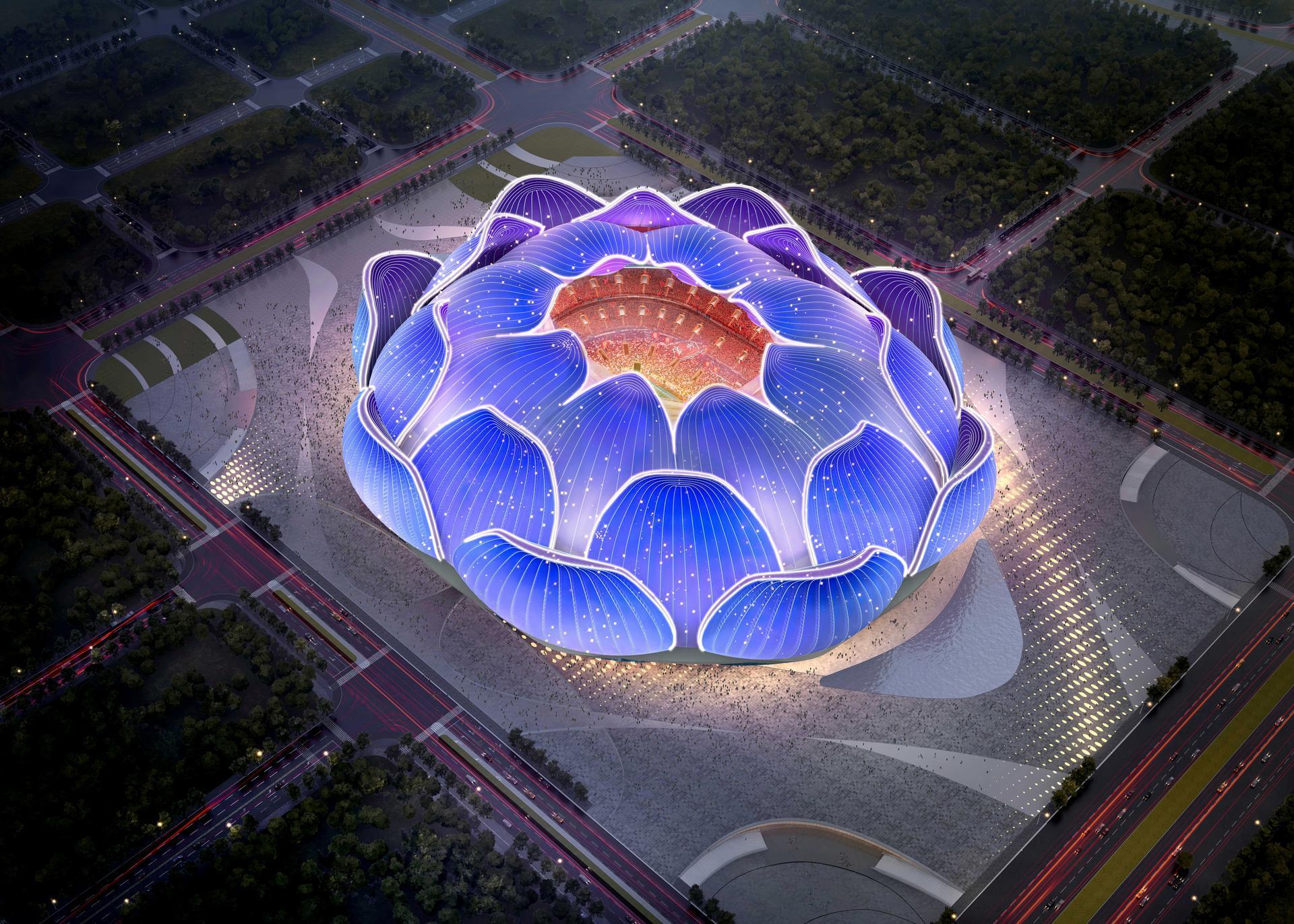 Китай строит самый большой стадион