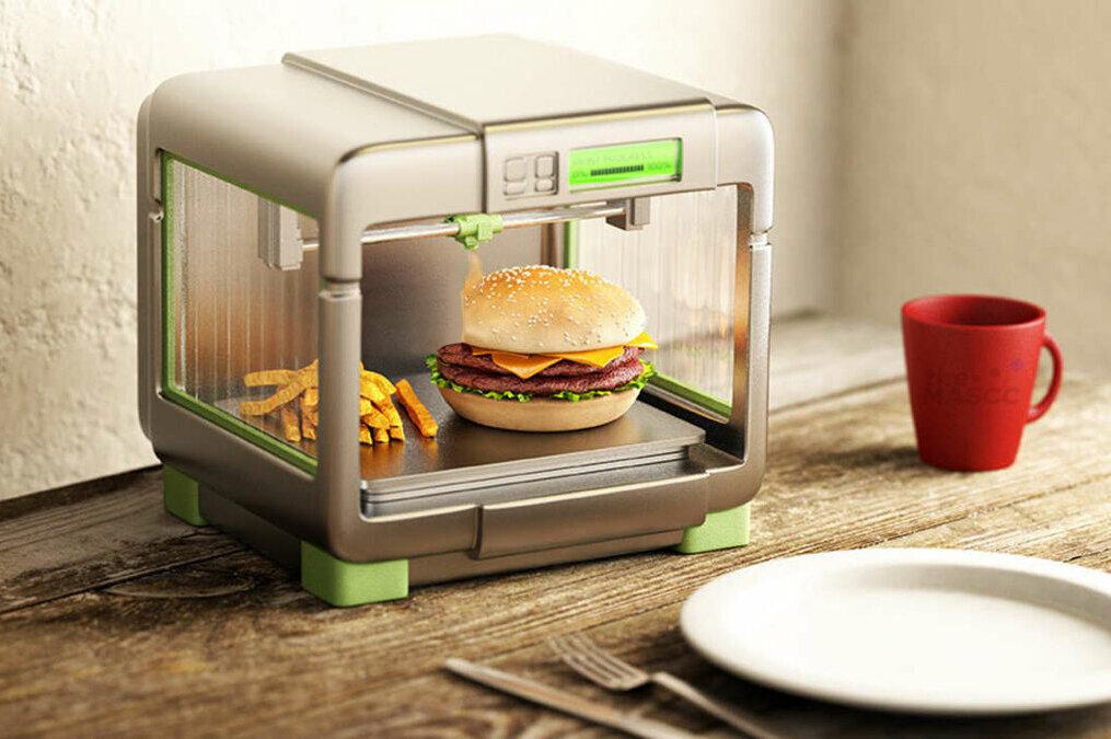 Печать еды на 3D-принтере.